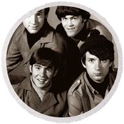 The Monkees 2 Round Beach Towel