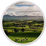 The Mournes Round Beach Towel