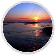 The North Sea Round Beach Towel
