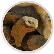 The Old Guy Round Beach Towel