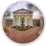 The Old State House - Little Rock - Arkansas Round Beach Towel