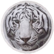 The Pale Hunter Round Beach Towel