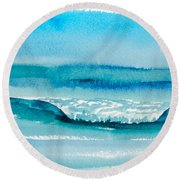 The Perfect Wave Round Beach Towel