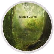 The Princess Bride - Inconceivable Round Beach Towel