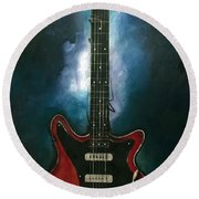 The Red Special Round Beach Towel