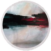 The River Tethys Part Two Of Three Round Beach Towel