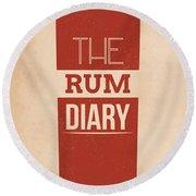 The Rum Diary Round Beach Towel