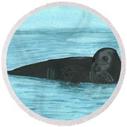 The Seal Round Beach Towel