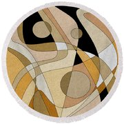The Soloist Round Beach Towel