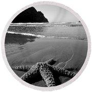 The Starfish Round Beach Towel