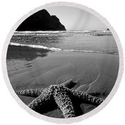 The Starfish Round Beach Towel