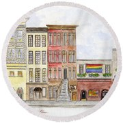 The Stonewall Inn Round Beach Towel