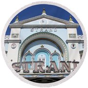 The Strand Key West Round Beach Towel