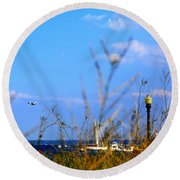 Round Beach Towel featuring the photograph The Summer Wind by Aurelio Zucco
