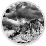 The Superstitions  Round Beach Towel by Saija  Lehtonen