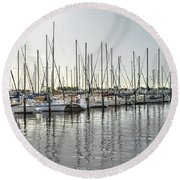 The Trail To Water Round Beach Towel
