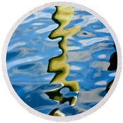 The Transformative Power Of Water Round Beach Towel