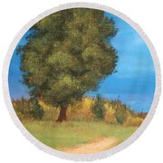 The Tree Round Beach Towel