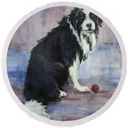 The Twilight Years Round Beach Towel by Cynthia House
