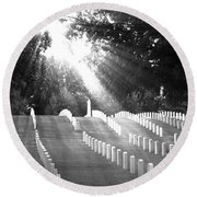 The Unknown Soldiers Round Beach Towel