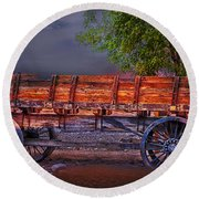 The Wagon Round Beach Towel