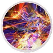 The Walk Round Beach Towel by Margie Chapman