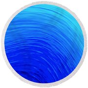 The Wave Round Beach Towel by Kellice Swaggerty