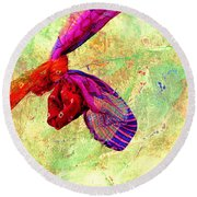 The Wedding Knot Round Beach Towel by Prakash Ghai
