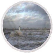The Wild Mersey 2 Round Beach Towel