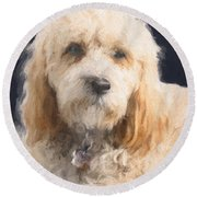 The Wink Round Beach Towel