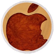 Think Different Steve Jobs 3 Round Beach Towel