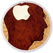 Think Different Tribute To Steve Jobs Round Beach Towel