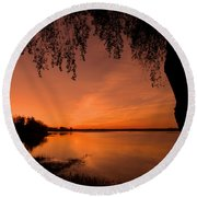 This Is A New Day ... Round Beach Towel
