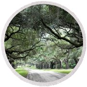 This Is The South Round Beach Towel by Patricia Greer