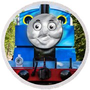 Thomas The Train Round Beach Towel