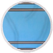 Thought Round Beach Towel
