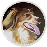 Tillie Round Beach Towel