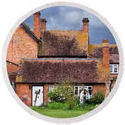 Round Beach Towel featuring the photograph Timeless by Keith Armstrong