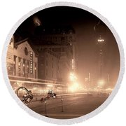 Timesquare 1911 Reloaded Round Beach Towel