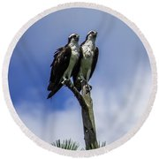 Together Again Round Beach Towel