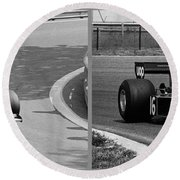 Tom Pryce Round Beach Towel