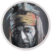 Tonto Round Beach Towel by Peter Suhocke