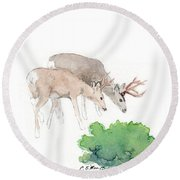 Too Dear Round Beach Towel