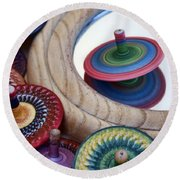 Tops Round Beach Towel