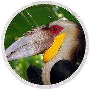 Round Beach Towel featuring the photograph Toucan by Sergey Lukashin
