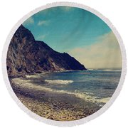 Treasures Round Beach Towel