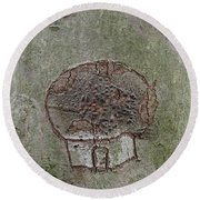 Tree Spirit Round Beach Towel by Robert Nickologianis