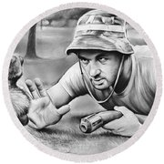 Tribute To Caddyshack Round Beach Towel
