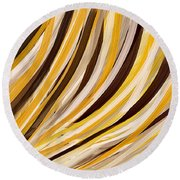 Tropical Ambiance Round Beach Towel