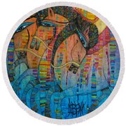 Troyka Round Beach Towel